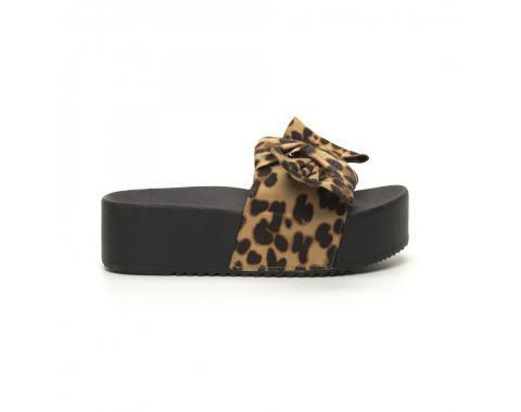 Дамски чехли леопард