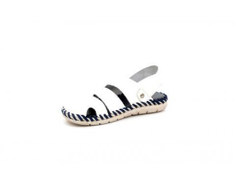 Мъжки сандали с кожа