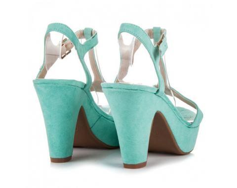 Покирити сандали зелени